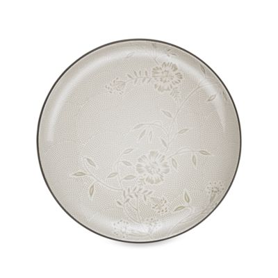 Noritake Colorwave Chocolate Bloom 12-Inch Round Platter