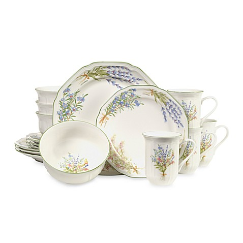 Mikasa® Botanical Bouquest 16-Piece Dinnerware Set