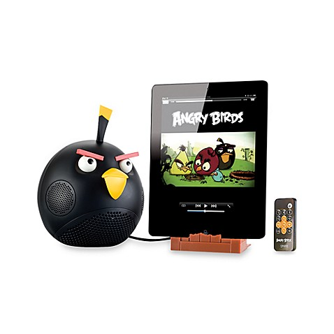 Angry Birds™ iPodiPhone & iPad Speaker Dock in Black