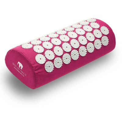 Bed of Nails Acupressure Pillow in Pink