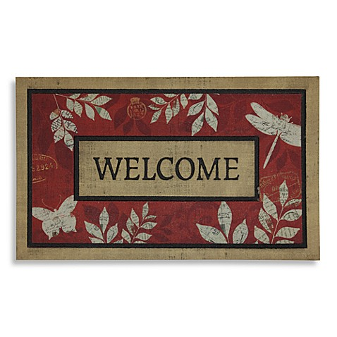 Mohawk Home Leaves and Letters Door Mat
