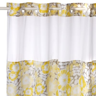 74 Yellow Fabric Shower