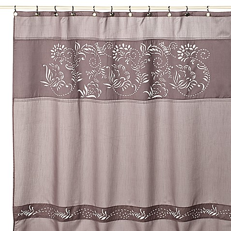"Waterville 72"" x 72"" Fabric Shower Curtain"