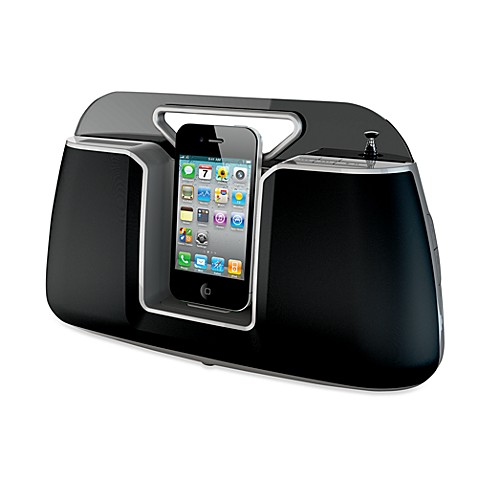 HMDX® Docking Speaker and Portable Audio System in Black