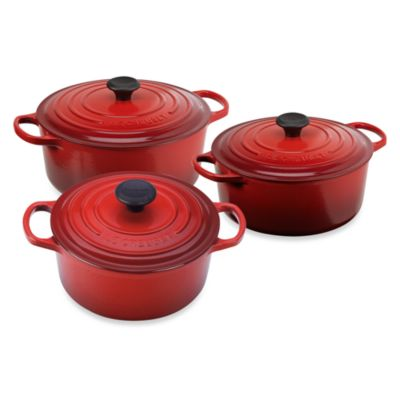 Le Creuset® Signature Round French Ovens in Cherry