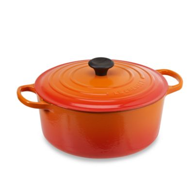 Le Creuset® 7.25-Quart Signature Round French Oven in Flame