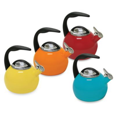 Chantal® Anniversary 2-Quart Tea Kettle in Orange