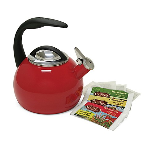 Chantal® Anniversary 2-Quart Tea Kettle in Red