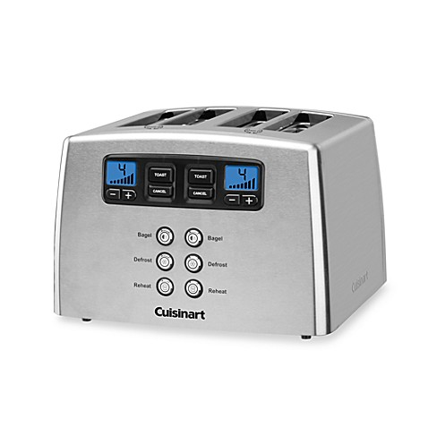 Cuisinart 174 Touch To Toast Leverless 4 Slice Toaster Bed