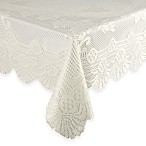 Lace Tablecloth 53-Inch x 73-Inch in Ivory