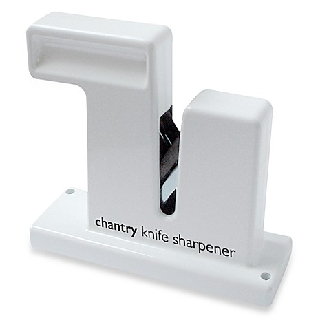 Messermeister Chantry Knife Sharpener in White