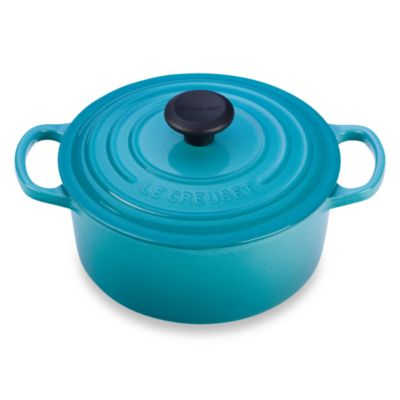 Le Creuset® Signature 2 qt. Round French Oven in Caribbean