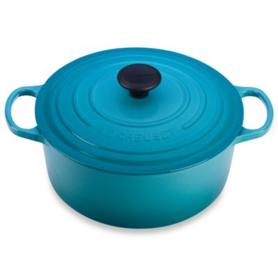 Le Creuset® 5.5-Quart Signature Round French Oven in Caribbean