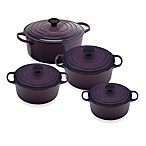 Le Creuset® Signature Round French Ovens in Cassis
