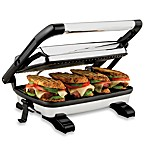 Hamilton Beach® Panini Press Gourmet Sandwich Maker