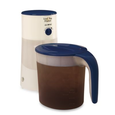 Mr. Coffee® 3-Quart Iced Tea Maker with Steeping Lever