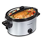 Hamilton Beach® Stay or Go 5-Quart Slow Cooker