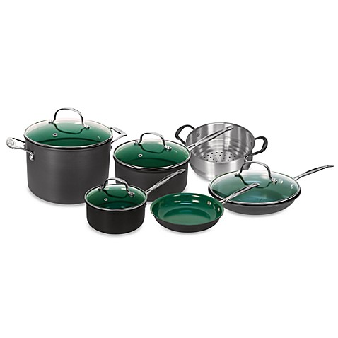 Orgreenic™ Kitchenware 10-Piece Cookware Set and Open Stock