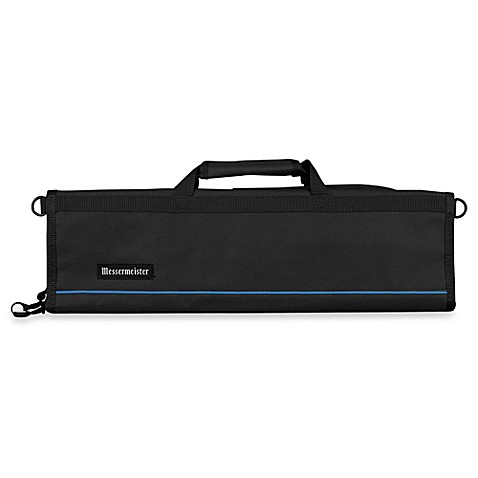 Messermeister 8-Pocket Knife Roll in Black