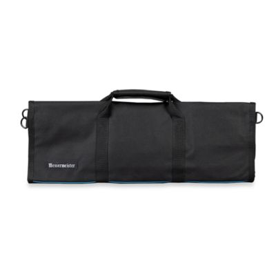 Messermeister 12-Pocket Knife Roll in Black