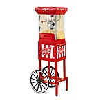 Nostalgia Electrics™ Compact Old Fashioned Movie Time Popcorn Cart™