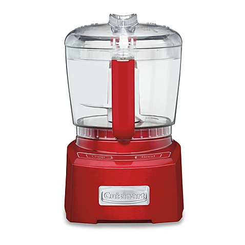 Cuisinart® Elite Collection™ 4-Cup Chopper/Grinder in Metallic Red