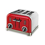 Cuisinart® Classic 4-Slice Toaster in Metallic Red