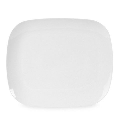 Everyday White® 11-Inch x 9 1/4-Inch Rounded Rectangle Dinner Plate