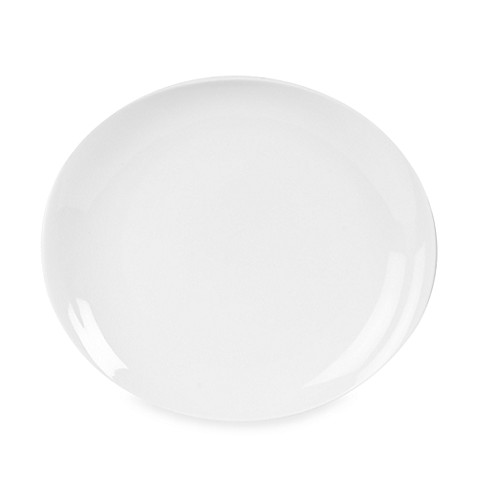 Everyday White® Oval Dinner Plate
