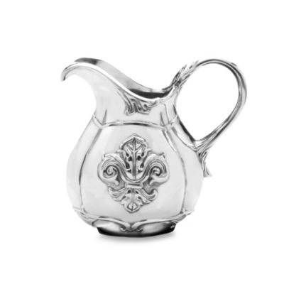 Arthur Court Designs Fleur-De-Lis 1-Quart Pitcher