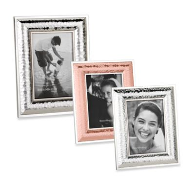 Reed and Barton® Dorsey 4-Inch x 6-Inch Picture Frame in Satin Silver