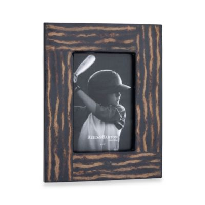 Reed & Barton® Logan 4-Inch x 6-Inch Picture Frame