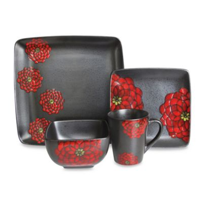 Red Casual Dinnerware