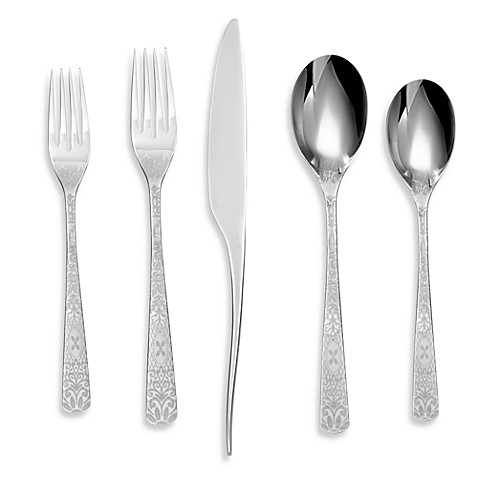 Cambridge® Couture Etch 20-Piece Flatware Set