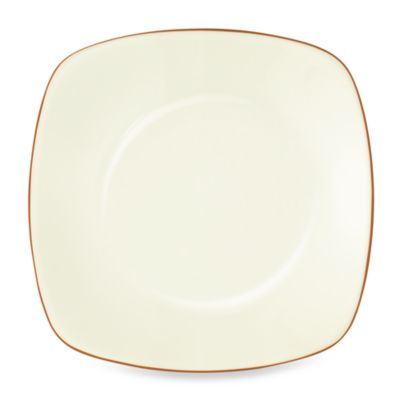 Noritake® Colorwave Square Dinner Plate in Terracotta