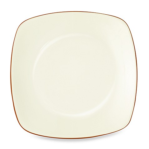 Noritake® Colorwave Square Salad Plate in Terracotta