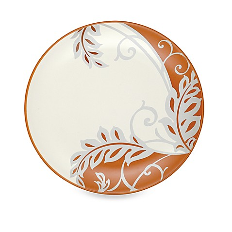 Noritake® Colorwave Plume Accent Plate in Terra Cotta