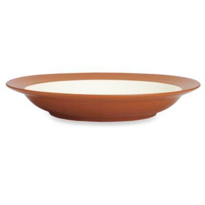 Colorwave Pasta Bowl in Terra Cotta