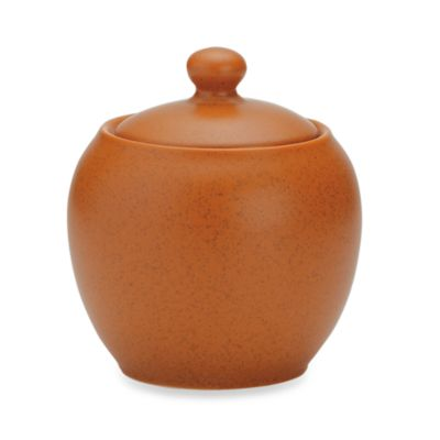 Noritake® Colorwave Terracotta 13-Ounce Covered Sugar Bowl