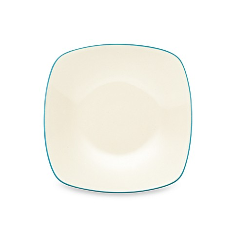 Noritake® Colorwave Square Dinner Plate in Turquoise