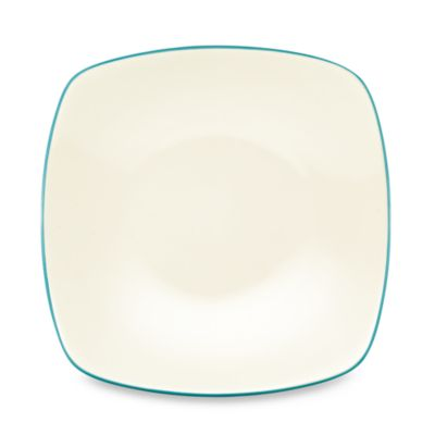 Noritake® Colorwave Square Salad Plate in Turquoise