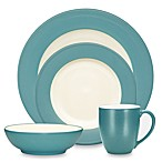 Noritake® Colorwave  Rim Dinnerware in Turquoise