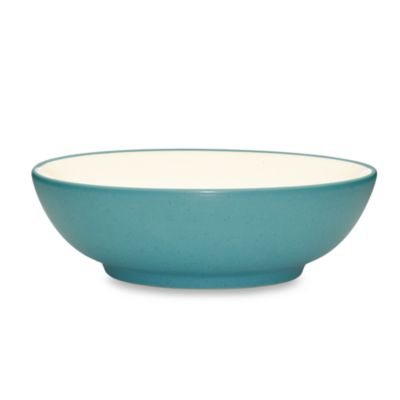 Turquoise Cereal Soup Bowl