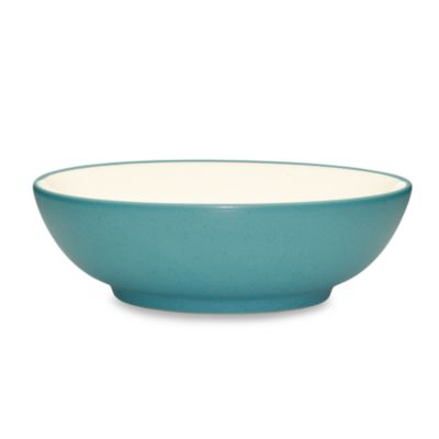 Noritake® Colorwave Round Vegetable Bowl in Turquoise