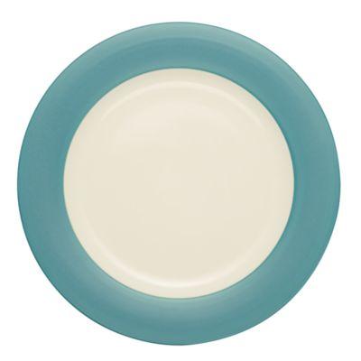 Noritake® Colorwave Rim Round Platter in Turquoise
