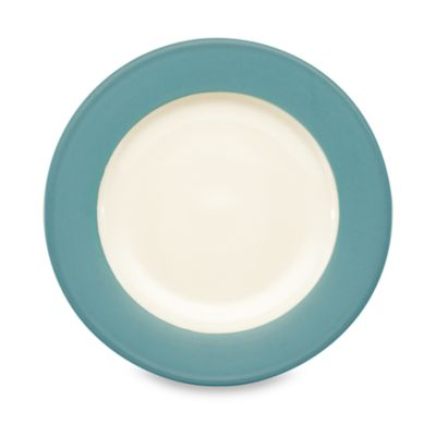 Noritake® Colorwave Rim Dinner Plate in Turquoise