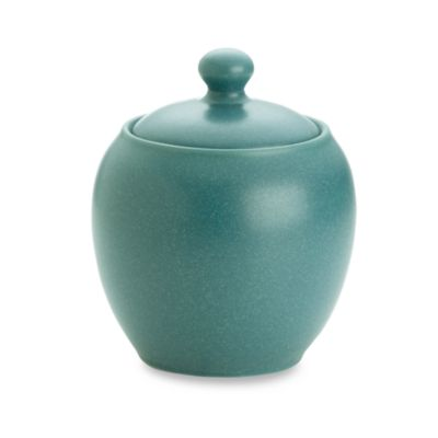 Noritake® Colorwave Sugar Bowl with Cover in Turquoise