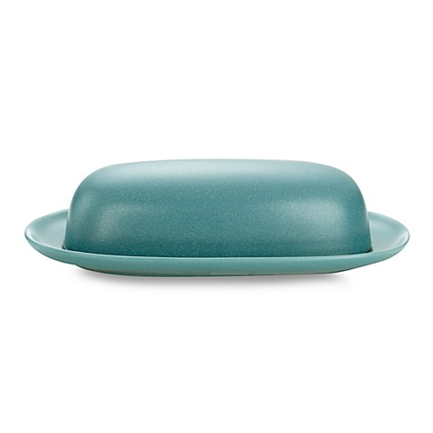 Noritake® Colorwave Covered Butter Dish in Turquoise