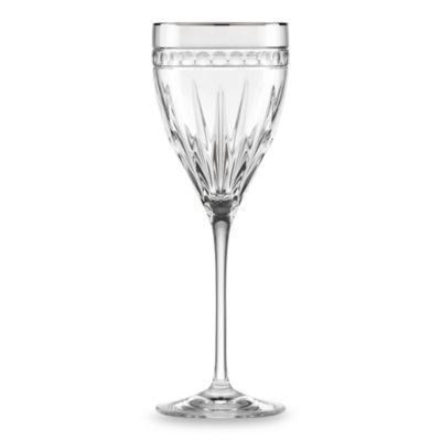 Lenox® Vintage Jewel® Platinum Signature 10-Ounce Wine