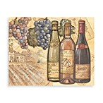 CounterArt® Glass 12-Inch x 15-Inch Cutting Board in Vineyard Design